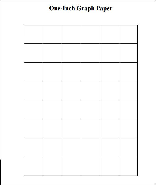 Sample  Inch Graph Paper   Free Documents In Pdf  SchoolHome