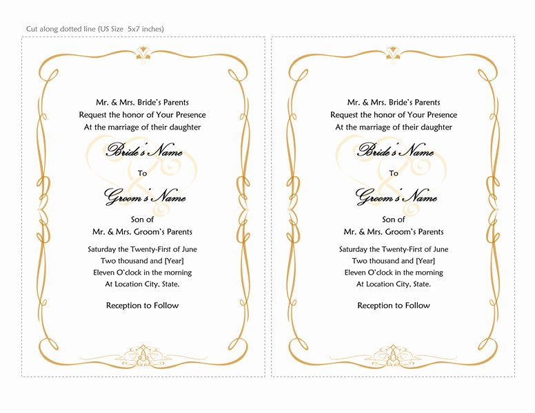 Ms Word Wedding Invitation Template Awesome Microsoft Word 2013 Wedding Invitation Templates Free Wedding Invitation Templates Wedding Invitation Templates