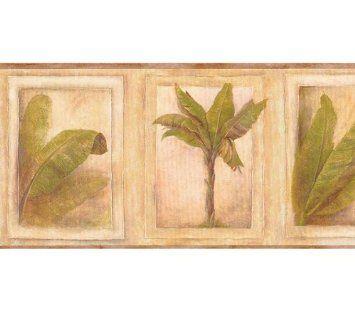Palm Tree Wallpaper Border. Palm Tree wallpaper border.The