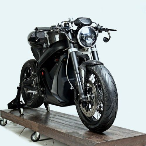Custom Zero Sr Electric Motorcycle By White Collar Bike Electric