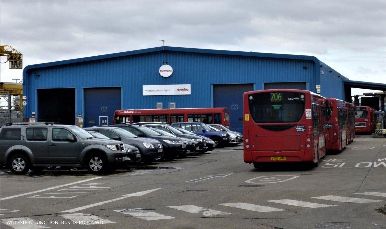 Willesden Junction Bus Depot Nw10 Bus Depot Station