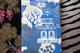 Image result for osborne and little summer palace wallpaper