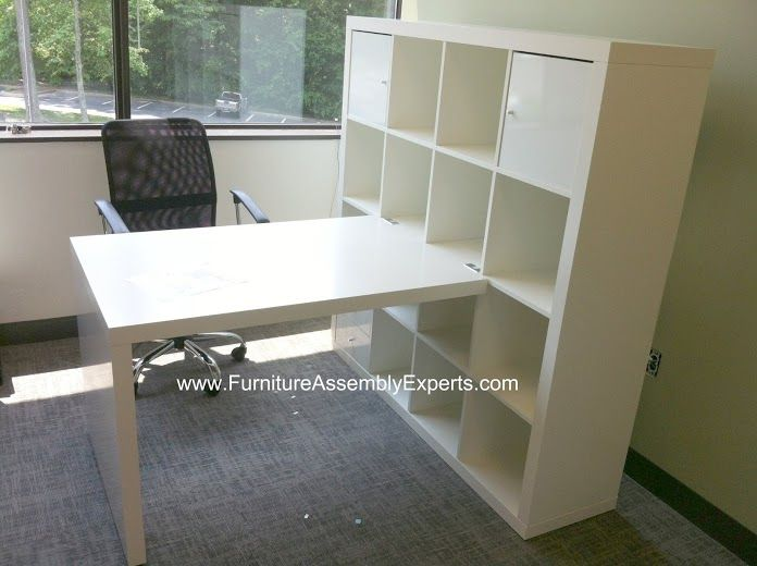 Ikea expedit desk assembled in annapolis md by furniture for Will ikea assemble furniture