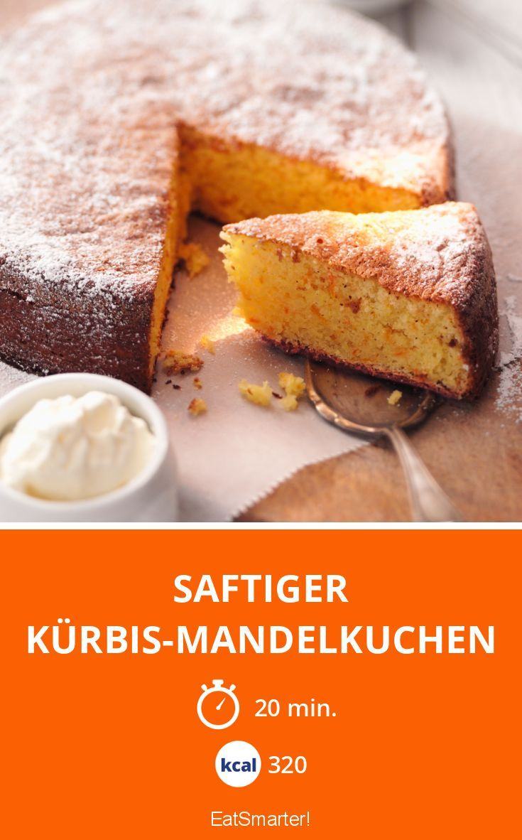 Photo of Saftiger Kürbis-Mandelkuchen