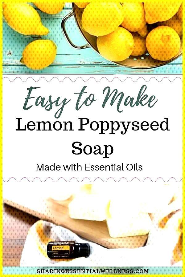 Homemade Moisturizing Lemon Soap This easy to make DIY lemon soap is perfect for dry skin This mois