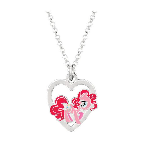 Fine silver plated ie pie in heart my little pony pendant necklace fine silver plated ie pie in heart my little pony pendant necklace 13 mozeypictures Images
