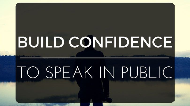 Continuous practice and connection with your audience will help you build confidence to speak in public.