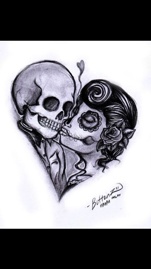 "Think about this as my next tattoo saying ""hopeless romantic"" and probably less suger skull more pin up"
