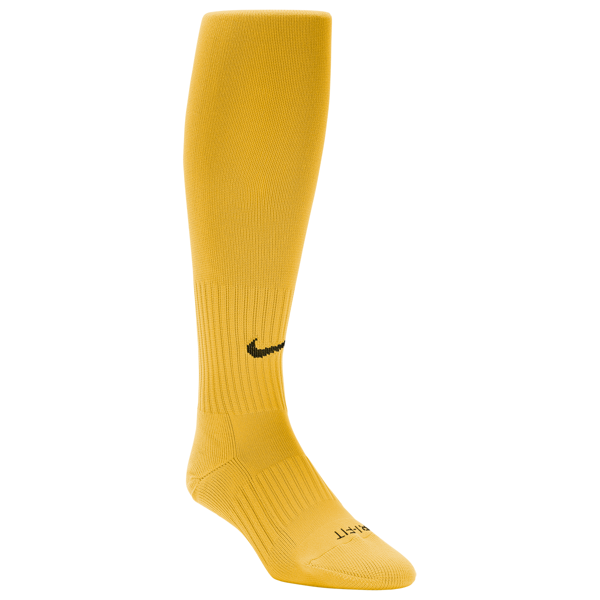 Nike Classic Soccer Socks Yellow Black L Soccer Socks Socks Nike