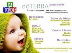 Aceites esenciales para Bebes