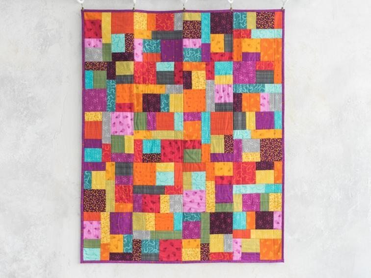 Tiles Square One Farmers Market Expand A Quilt Kit By Monique