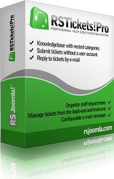 RSTickets! Pro Joomla! Help Desk ticketing system