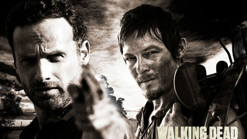 Rick And Daryl The Walking Dead HD Wallpaper