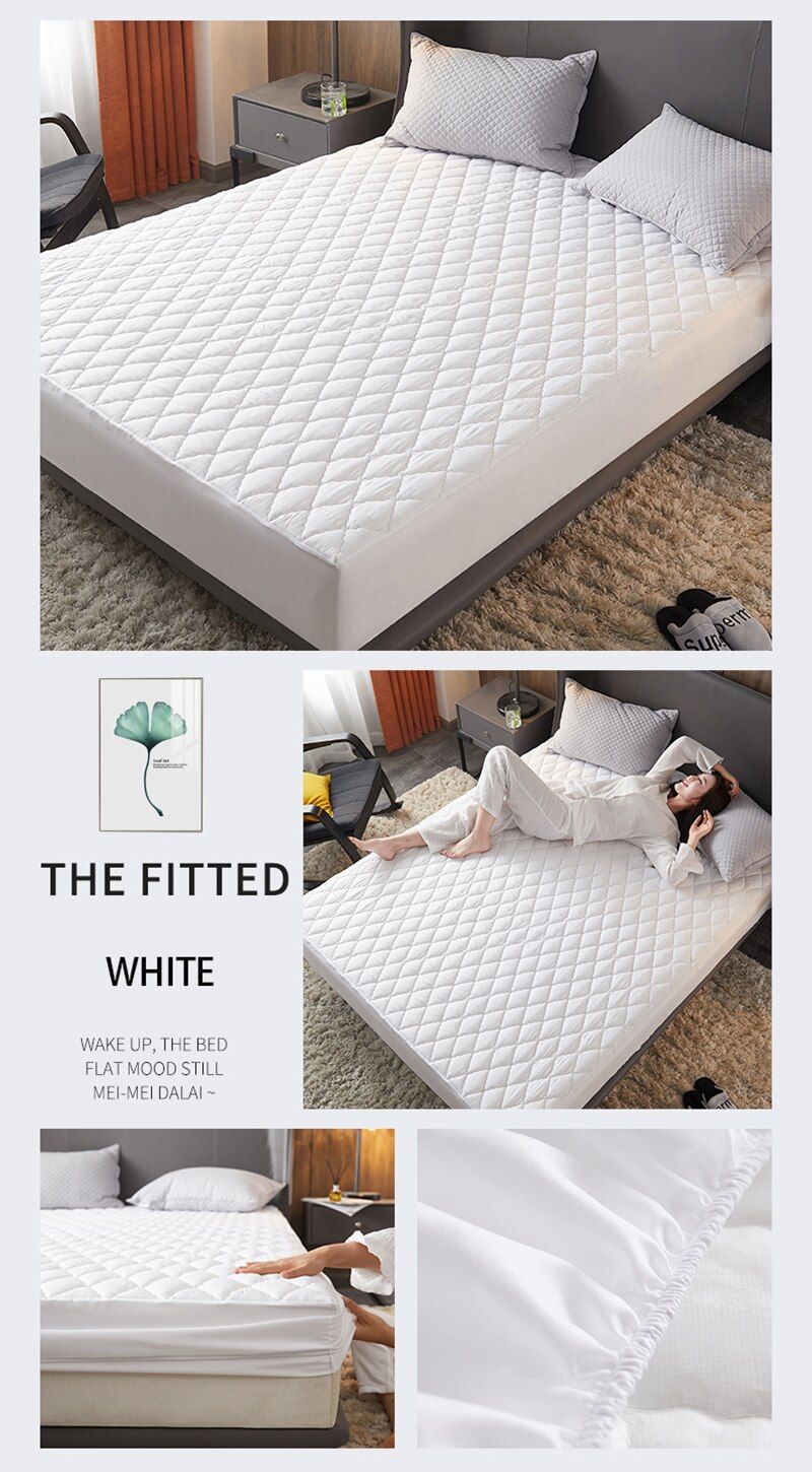 47 Reference Of Mattress Pad Bed Bug Proof Waterproof Mattress Cover Mattress Protector Mattress Pad Cover