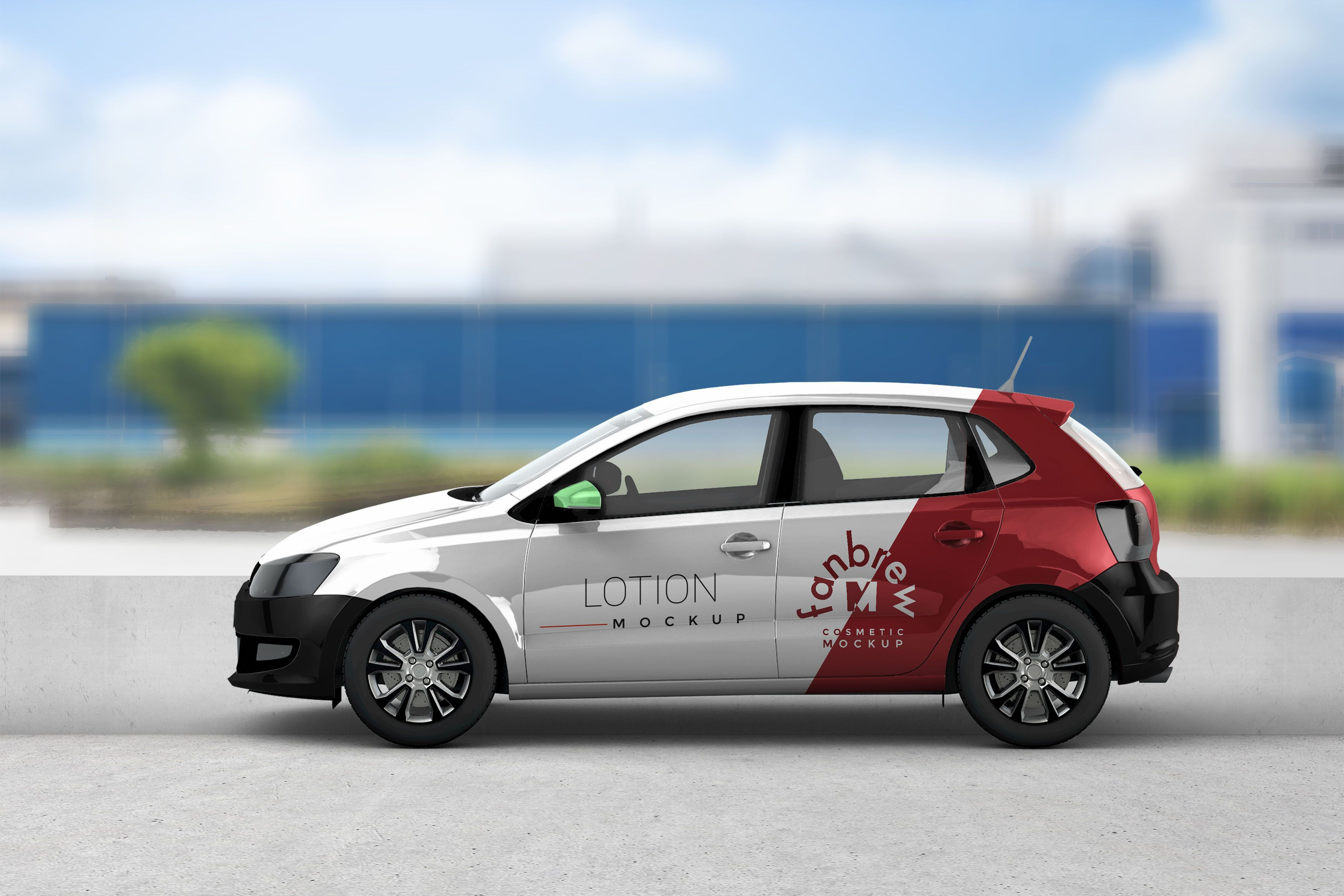 New Indica Car Wrap Mockup (With images) Car wrap design
