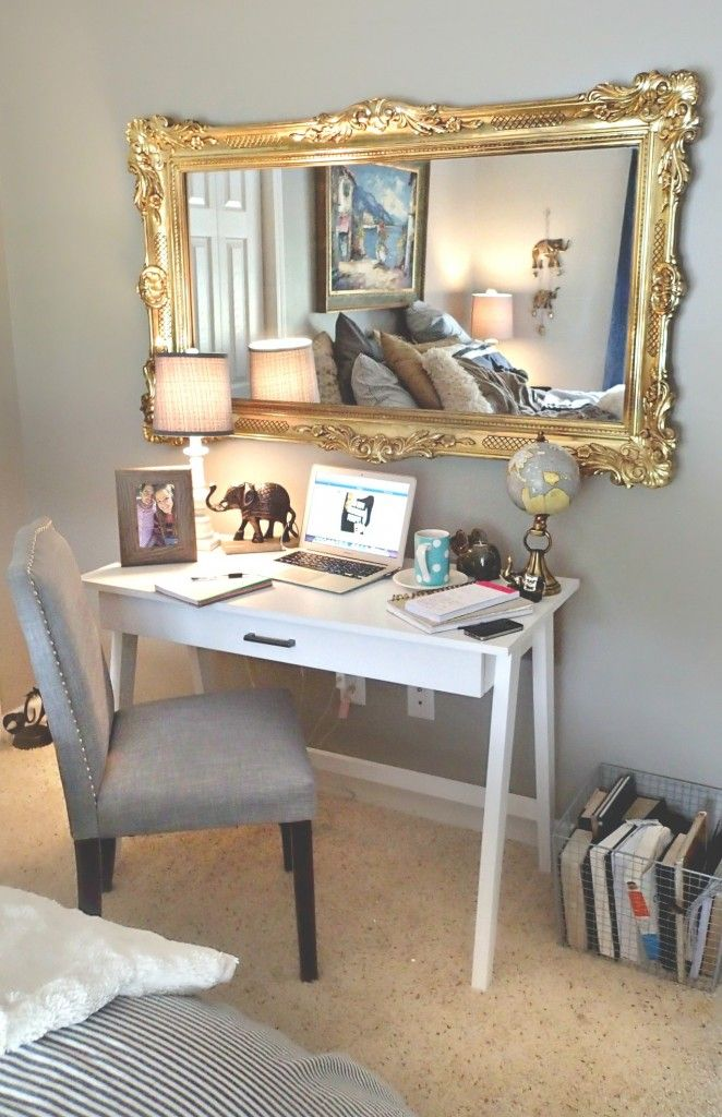 Simply Home Decorating: Room Decor: New Little Work Space