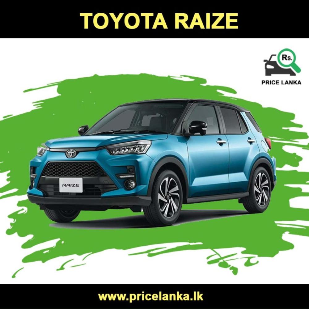 Toyota Raize Price In Sri Lanka In 2020 Daihatsu Suv Prices Toyota