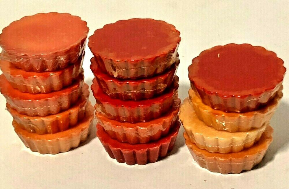 Embers wax melt tarts no fragrance crafts candle making