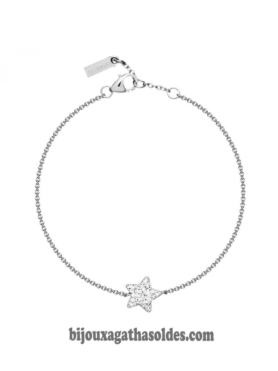 Bijoux agatha bracelet argent