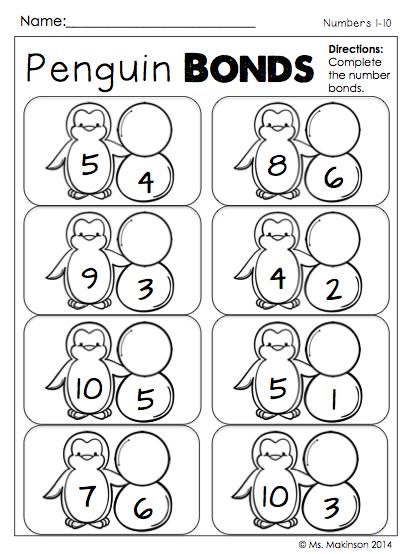 Penguin 1st Grade Math Worksheets. Penguin. Best Free