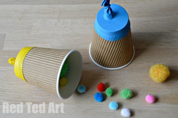 Fun Party Poppers - they really do POP and are nice and safe. Only take 5 minutes to make (ours were upcycled too). Great for 4th July or New Years Eve or just a party or rainy day!!!