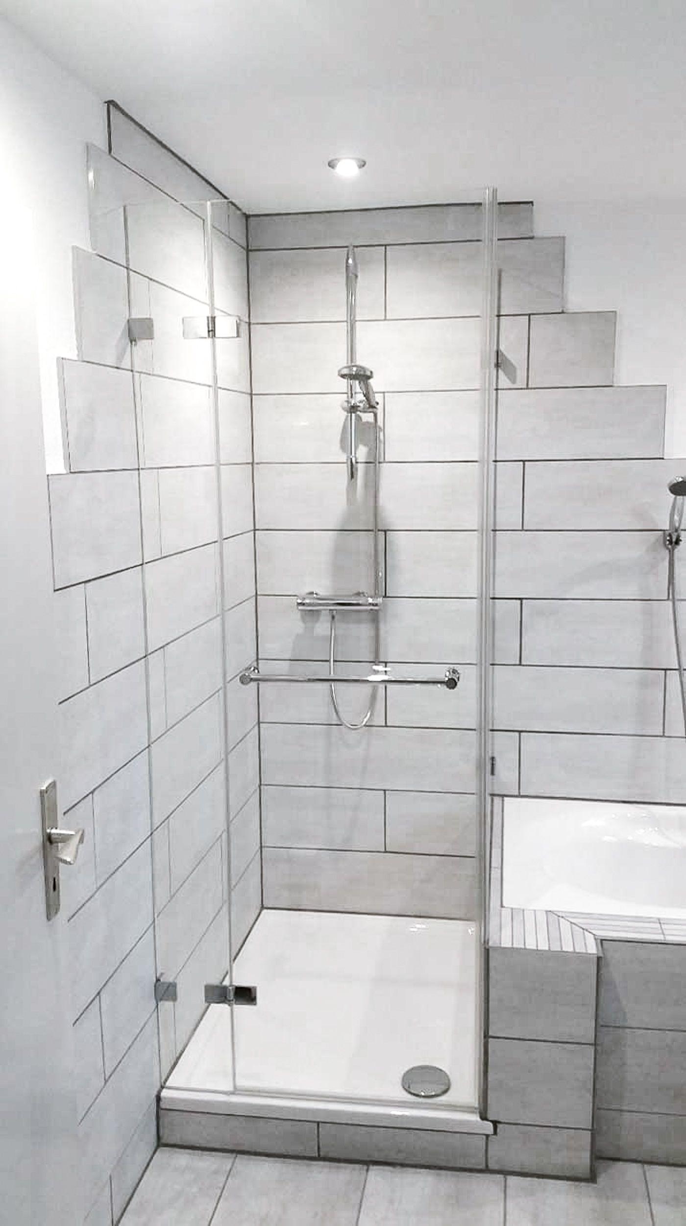 Inspirationen Fur Ihre Glasdusche Mit Badewannenanschluss Glasduschen Duschabtrennung Dusche
