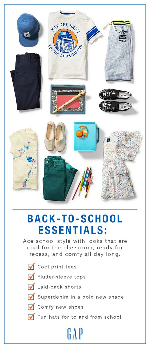 """Back-to-School Essentials: Ace school style with looks ..."