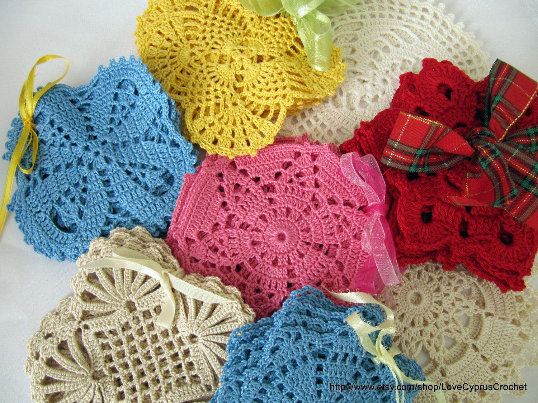 diagram crochet coaster interior heart pdf coasters pattern number 4 file