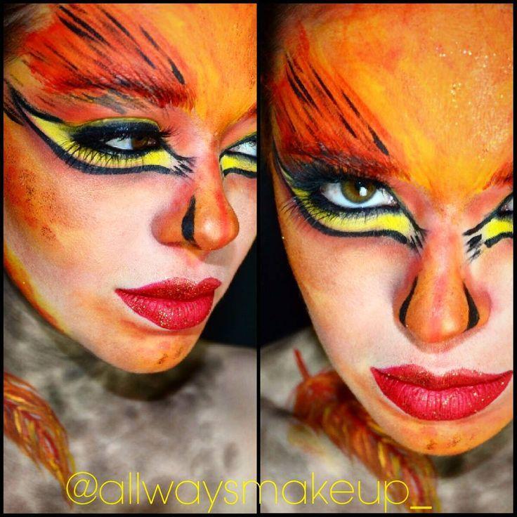 allwaysmakeup_Day 39/100 Phoenix makeup I think Im using ...