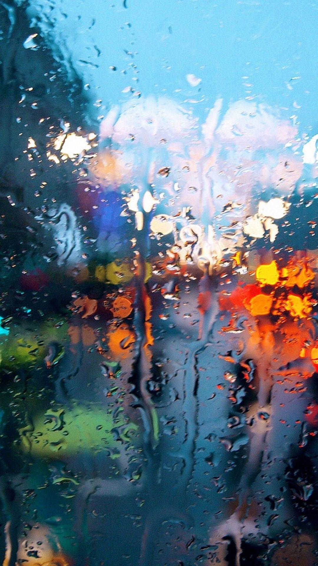 Raindrop Wallpaper Iphone 5 Rain Wallpapers Iphone Background