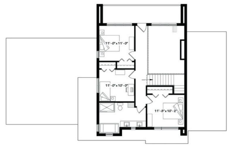 Casas de 200m2 modernas Planos de la casa Pinterest