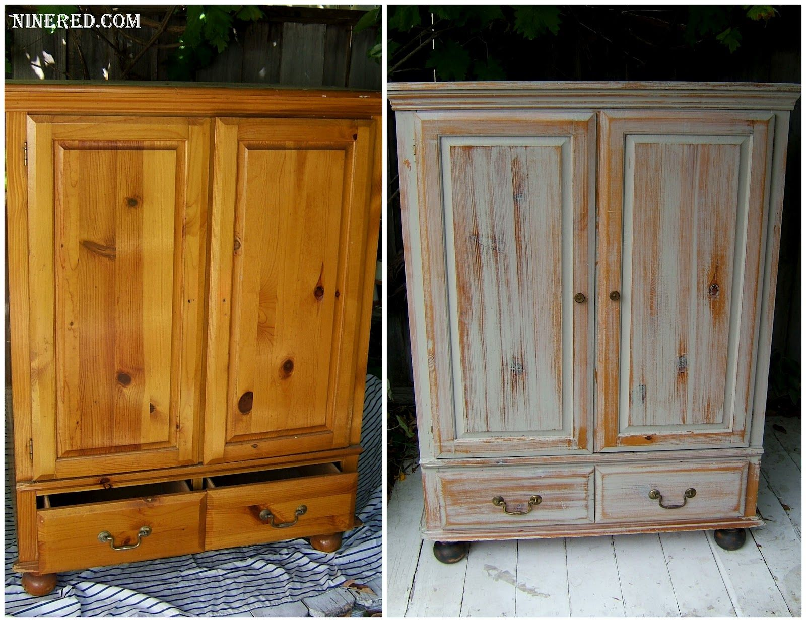 Best way to clean wood furniture -  White Wash For The Built In Cabinets Nine Red School Of Restoration Color Wash