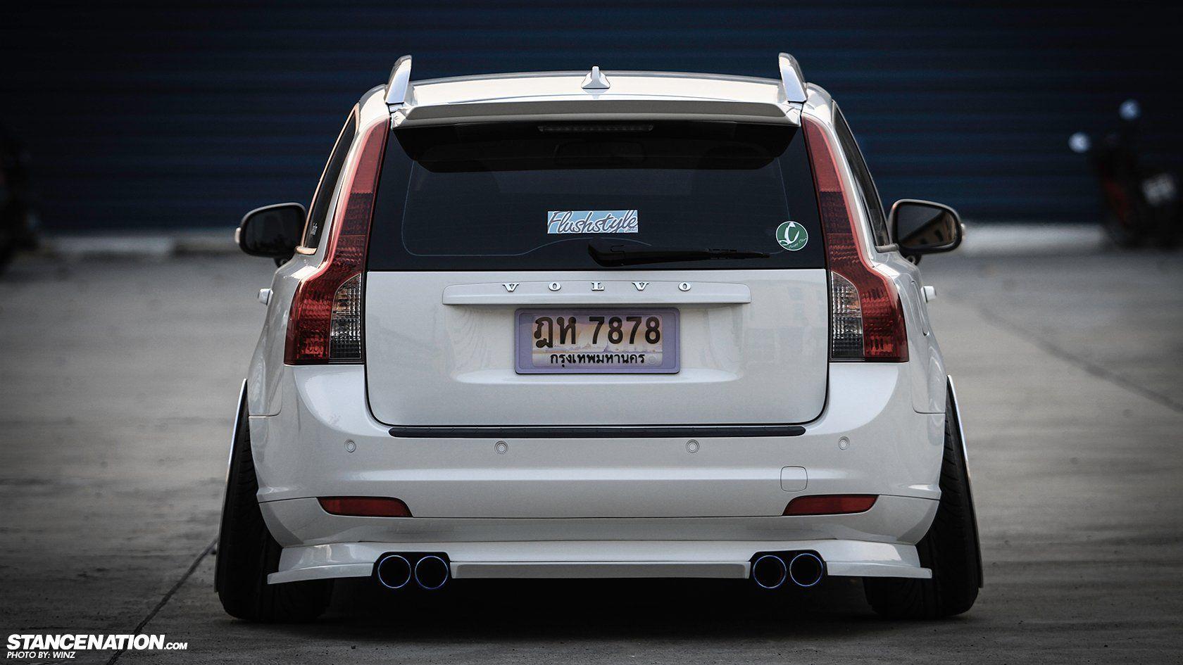 Volvo v50 stationwagon tuning custom wallpaper 1680x945 774267
