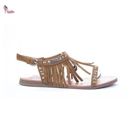 Damen Schuhe, H165, SANDALEN, STRASS DEKO ZEHENTRENNER, Synthetik in hochwertiger Lederoptik Beige, Gr 36