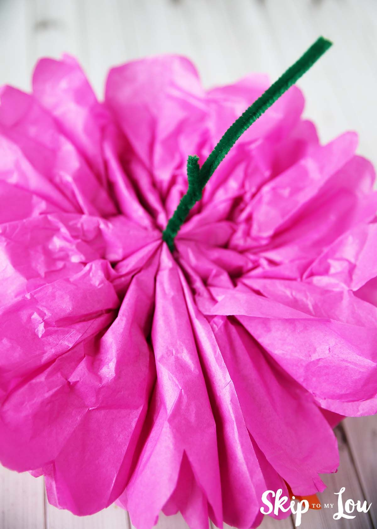 How To Make Tissue Paper Flowers Skip To My Lou Tissue Paper