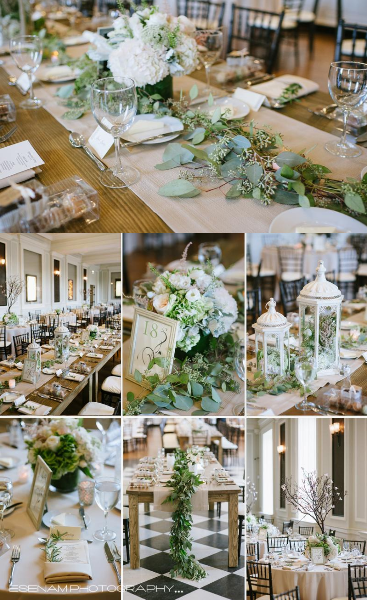 Wedding Decor And Table Details For A Classy Chicago Wedding At