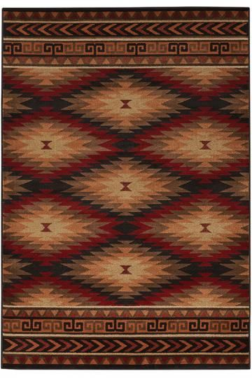 Albuquerque Area Rug Machine Made Rugs Synthetic