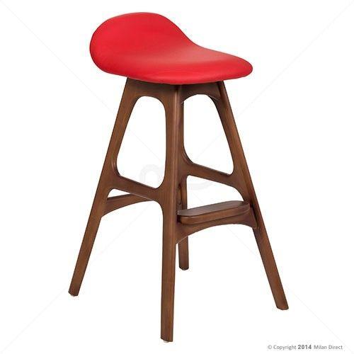 erik buch bar stool  replica  65cm  walnut wood  buy