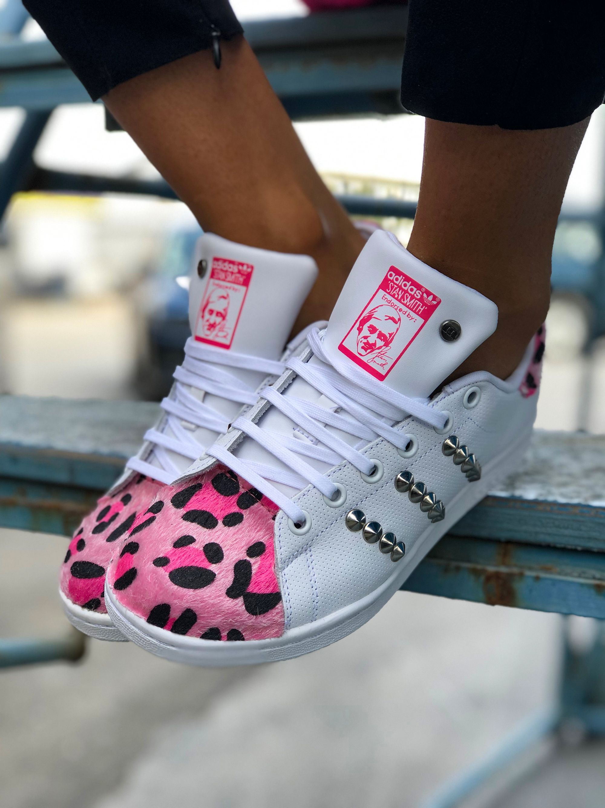adidas Stan Smith Scarpa rosa fluorescente