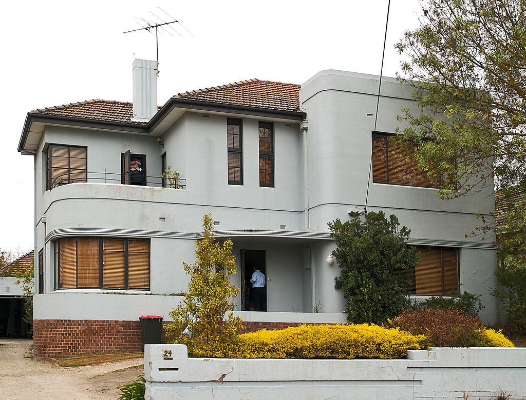 Art Deco House Melbourne Art Deco Home Art Deco Buildings Art Deco