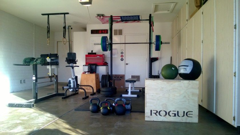Complete crossfit garage setup crossfit garage gym crossfit