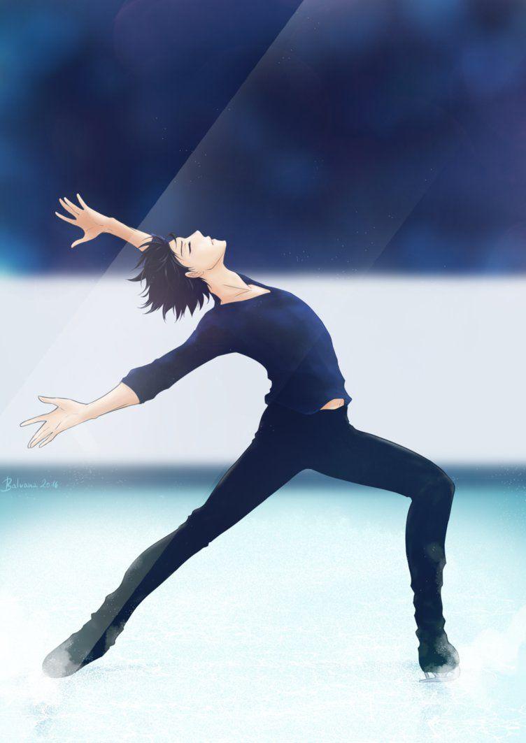Yuri Katsuki ~ Yuri On Ice ~ Fanart by balvana on DeviantArt