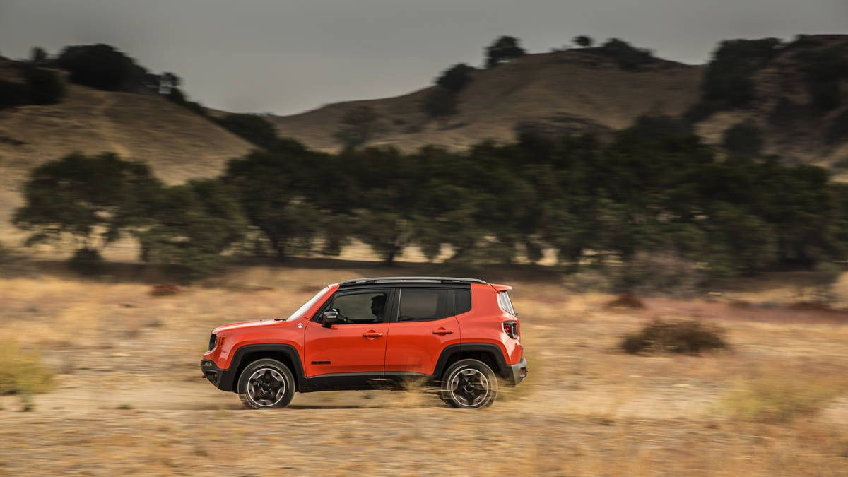 Photo 2016 Jeep Renegade Trailhawk 4x4 Photo 3 Jeep