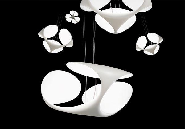 Brand kundalini model klover lighting