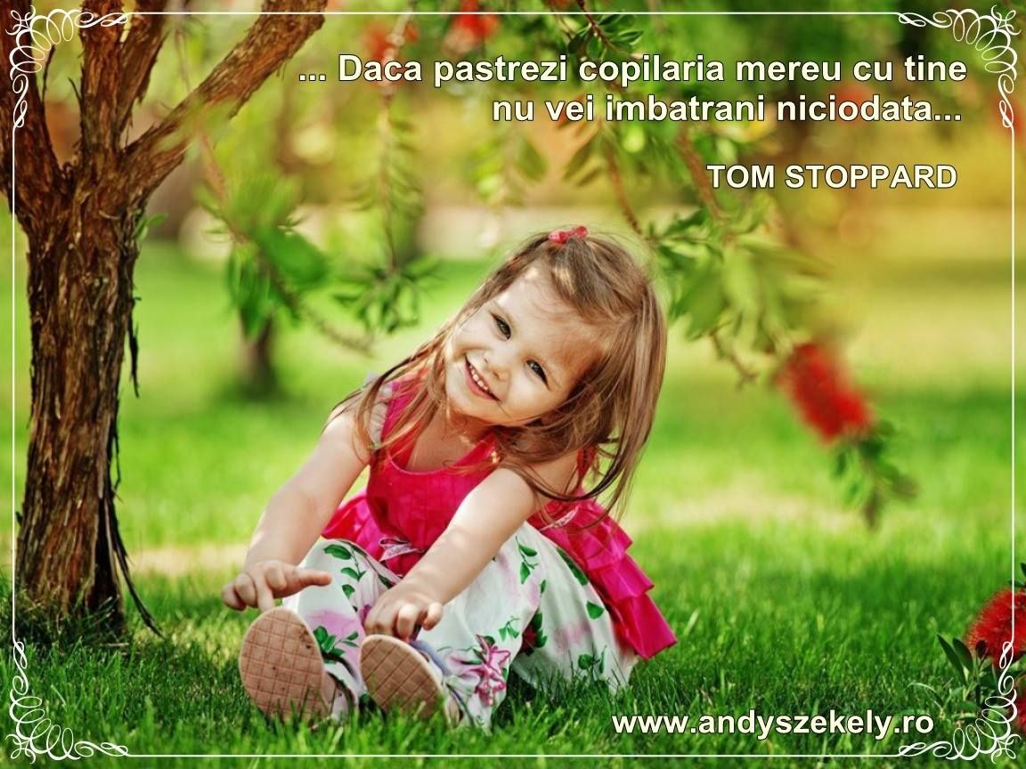 citate copilarie citat despre copilarie tom stoppard | Quotes citate copilarie