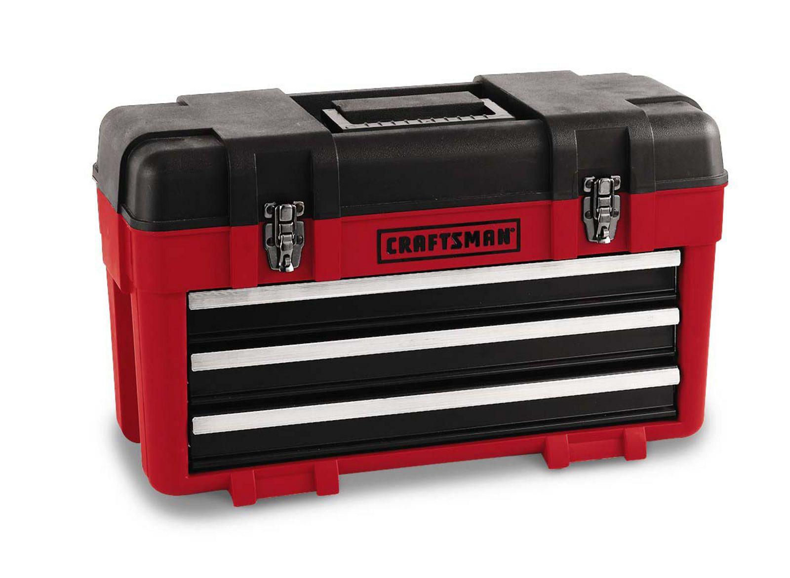 craftsman 3 drawer plastic metal toolbox | giving | Tool
