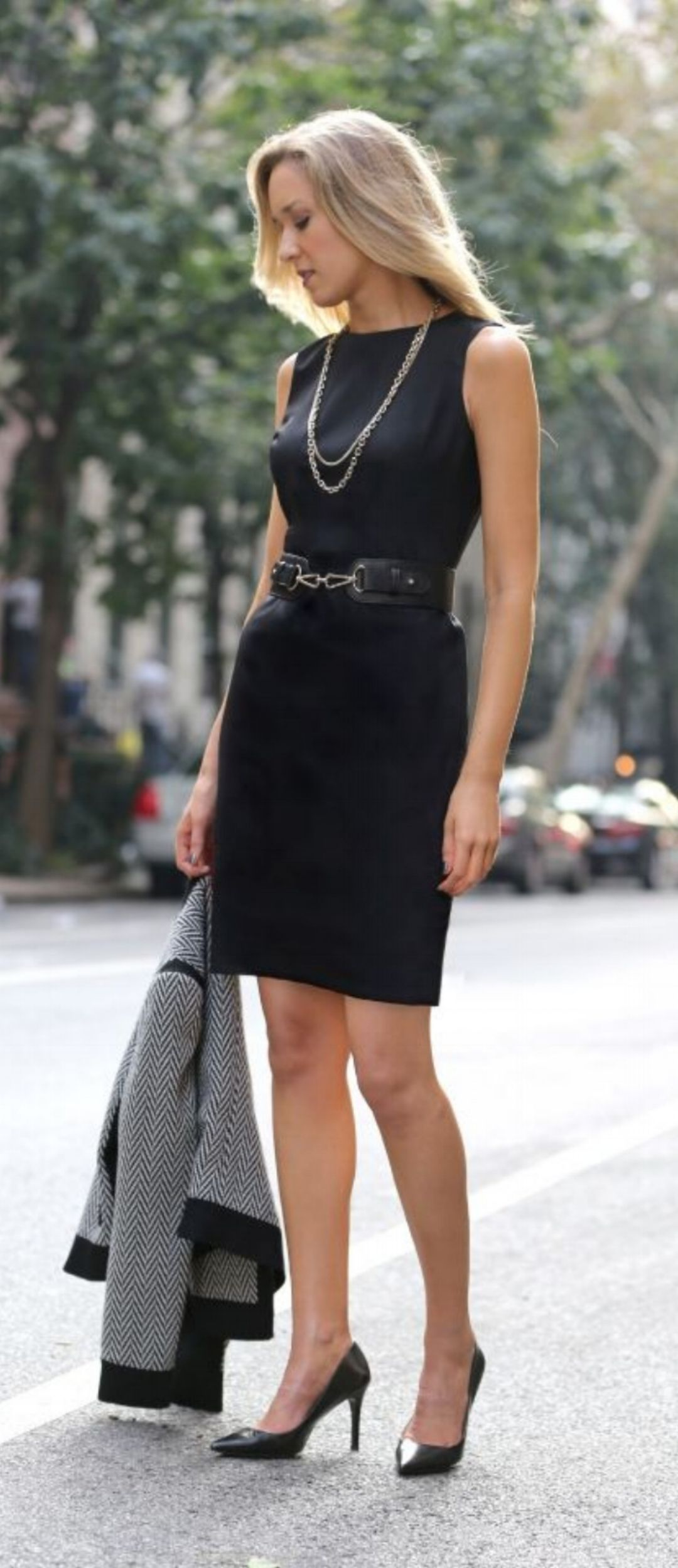 How to stylish dress chic fotos