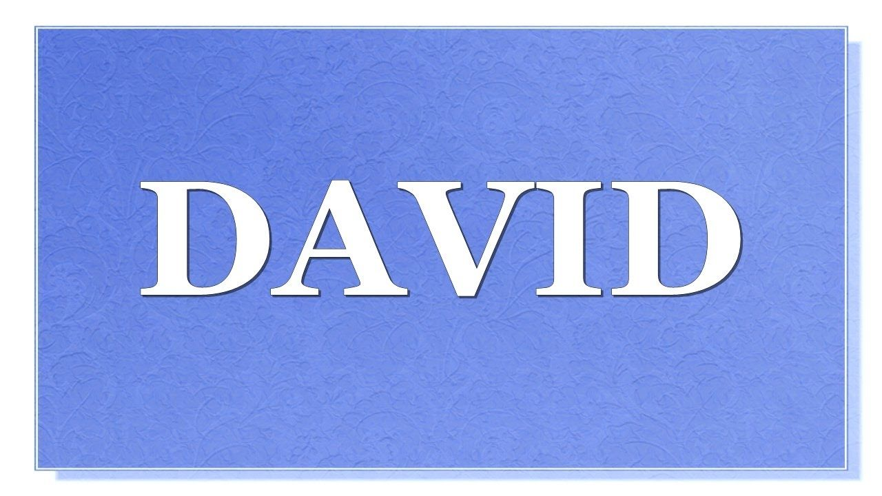 The meaning of the name David is for a boy. Name David: Meaning, Origin and Mystery 96