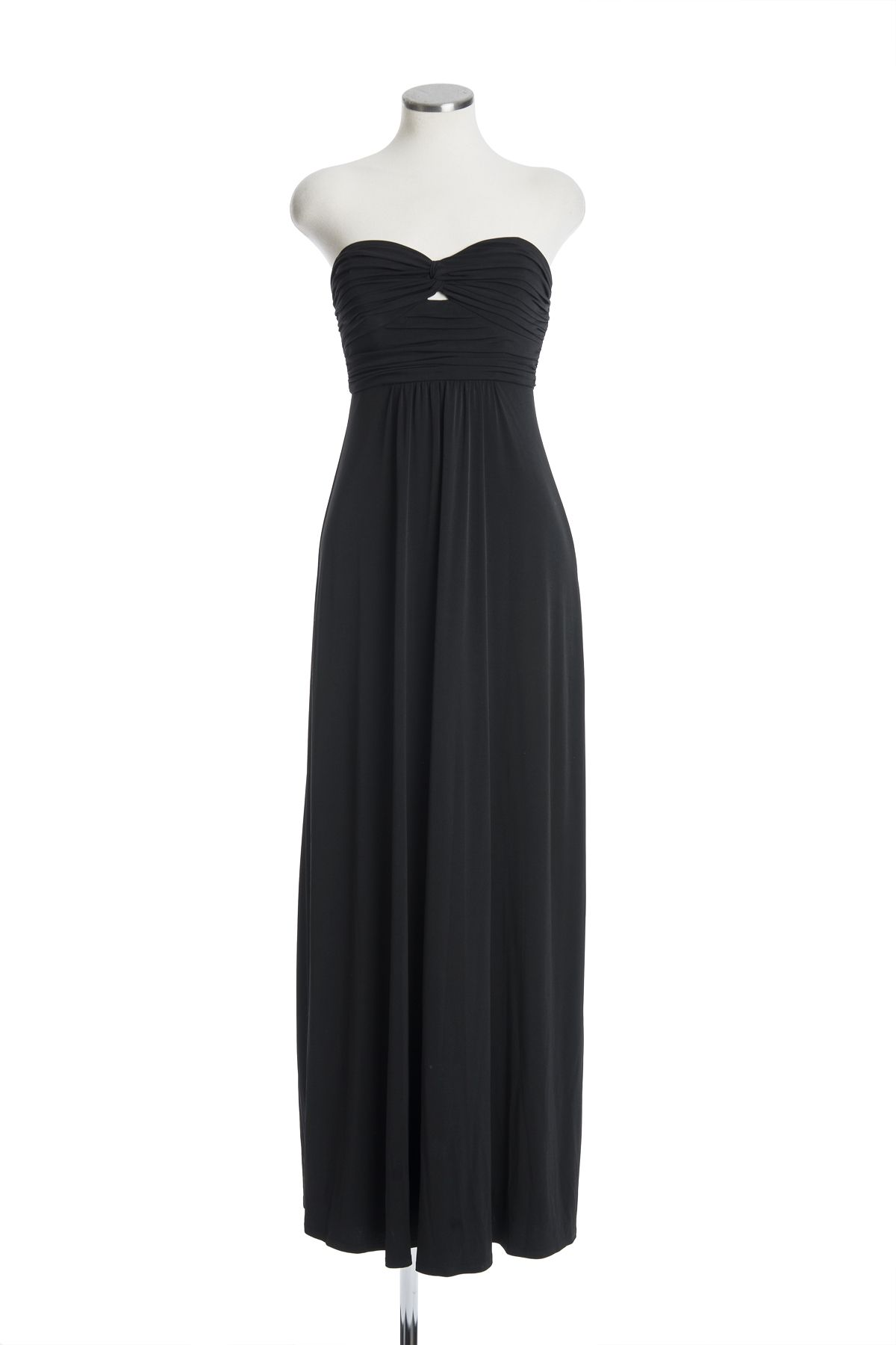 December th shine on new years eve in this classic long strapless