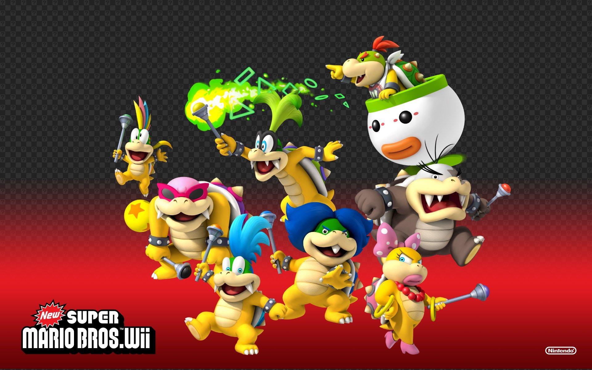 1920x1200 New Super Mario Bros Wii Game Wallpaper Super Mario